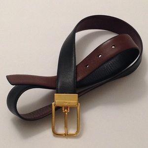 🍃🌹Yves. St. Laurent  'Butter Soft' Leather Belt